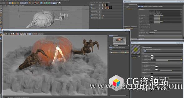 C4D阿诺德渲染器 SolidAngle C4DtoA 2.4.4 CINEMA 4D R19-R20 Win替换破解